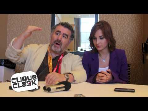 Warehouse 13's Saul Rubinek & Allison Scagliotti-Smith @ 2012 SDCC