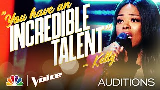 """Faye Moffett Sings Demi Lovato's Emotional """"Anyone"""" - The Voice Blind Auditions 2020"""