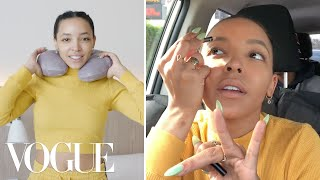 Tinashe's Ski Road Trip Travel Routine | On the Go | Vogue