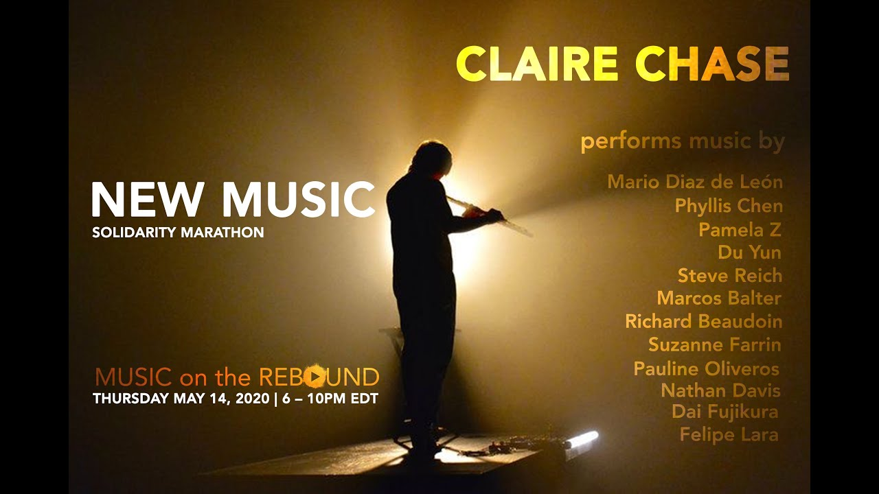 New Music Solidarity Marathon with Claire Chase
