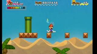 Chapter 1-3: Super Paper Mario: (Wii) Super Fast Walktrought! ! 100% Gameplay