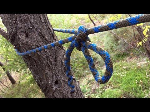 Как привязать веревку