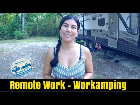 RV Remote Work - How To Work In A RV, While Traveling - Workamping