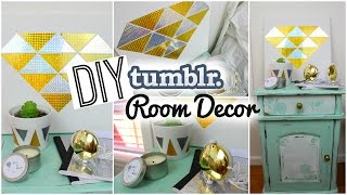 Diy Spring Room Decor: Tumblr Inspired!