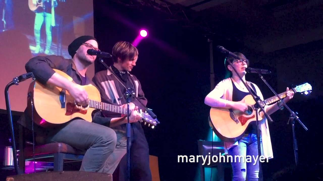 "Reeve Carney + Jason Manns + Laura @ Jibland  ""Ain't No Sunshine + Stand By Me + What's Going On"" LI"