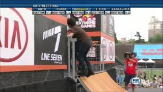 KIA X Games 2013 Aggressive Inline Street Final