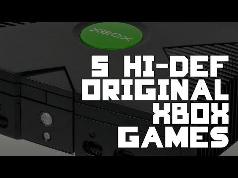 5 High Definition Original Xbox Games - IMPLANTgames