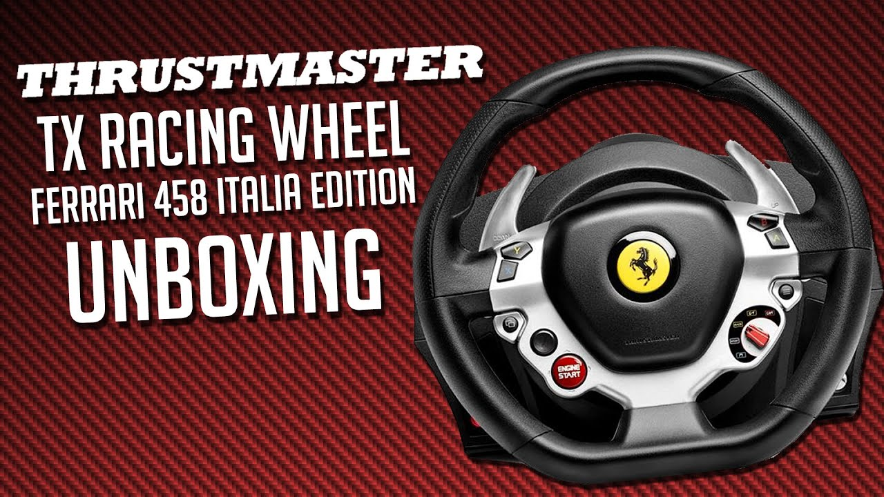 Xbox One Unboxing Thrustmaster TX Racing...
