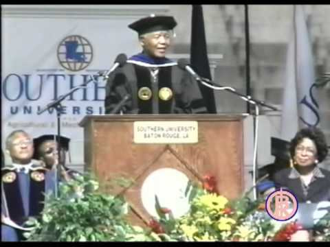 Nelson Mandela: Speaks at Southern University A & M College Baton Rouge [2000]