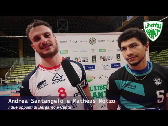 Volley A2M I due opposti a confronto Santangelo e Motzo