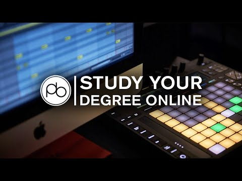 BA (Hons) Online Music Production & Sound Engineering Degree