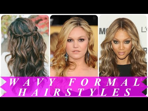 Best wavy prom hairstyles for women
