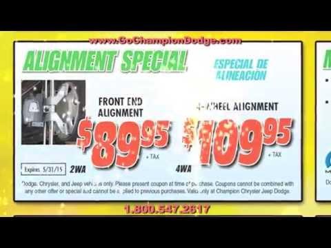 DODGE & JEEP SERVICE - Buena Park & Torrance CA - RAM - Parts & Repair Specials 800.547.2617