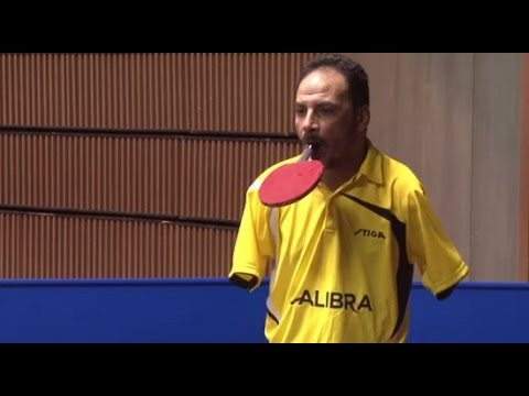 Amazing Ping Pong Player with No Arms Will Convince You That Nothing Is Impossible