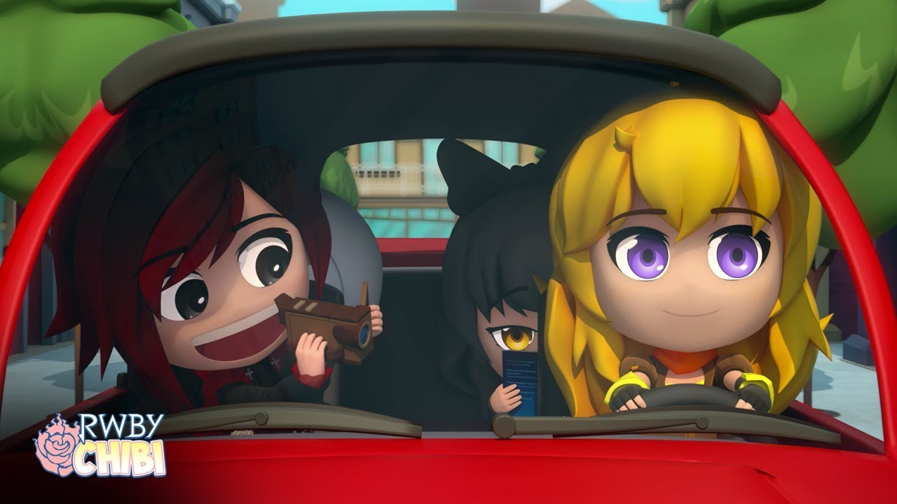 Video - RWBY Chibi Season 3, Episode 1 - Road Trip Rooster Teeth