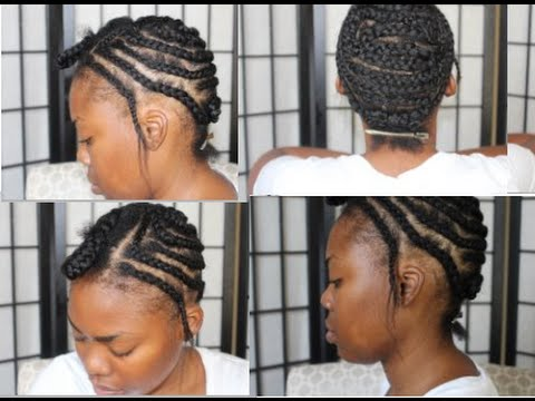 Braid Pattern for Sew In or UPart - YouTube