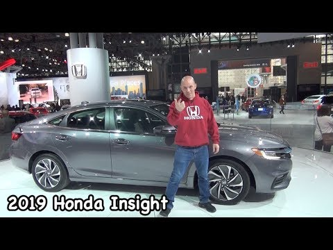 2019 Honda Insight Hybrid with 55 MPG & Hidden Secrets