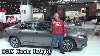 2019 Honda Insight Hybrid with a few Hidden Secrets