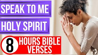 The voice of God Bible verses for sleep (Speak Lord, I will listen)