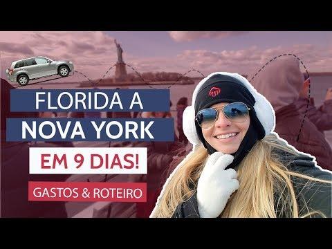 VIAGEM DE CARRO DA FLORIDA A NOVA YORK - ROTEIRO, CUSTO E DICAS | American Dream