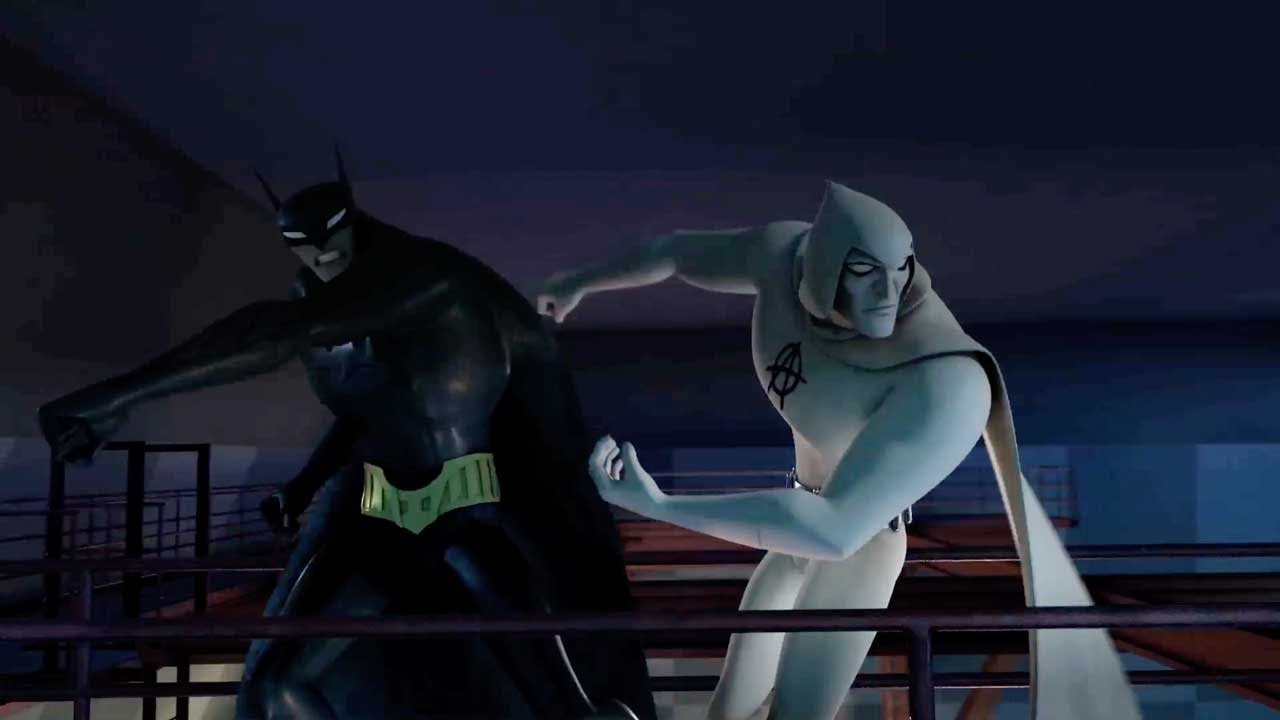 Dc Nation Beware The Batman Tests Clip 2 Youtube