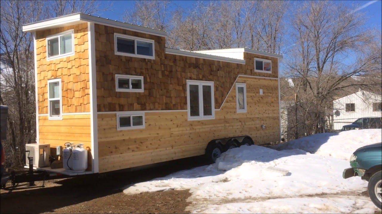 Custom 28 Foot Tiny House For Family Of Four Youtube