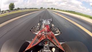 Hellion Front Engine Dragster vs. Don