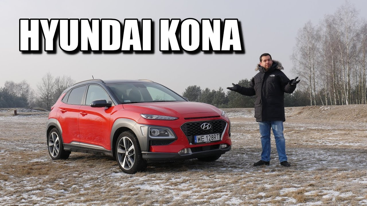 Hyundai Kona 1.0 122 hp (ENG) – Test Drive and Review