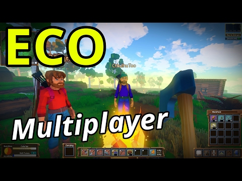 ECO Multiplayer | Ep. 1 | Brave New World! (Eco GangZ Server)