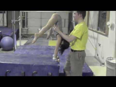 skill progression 3 cast handstands  youtube