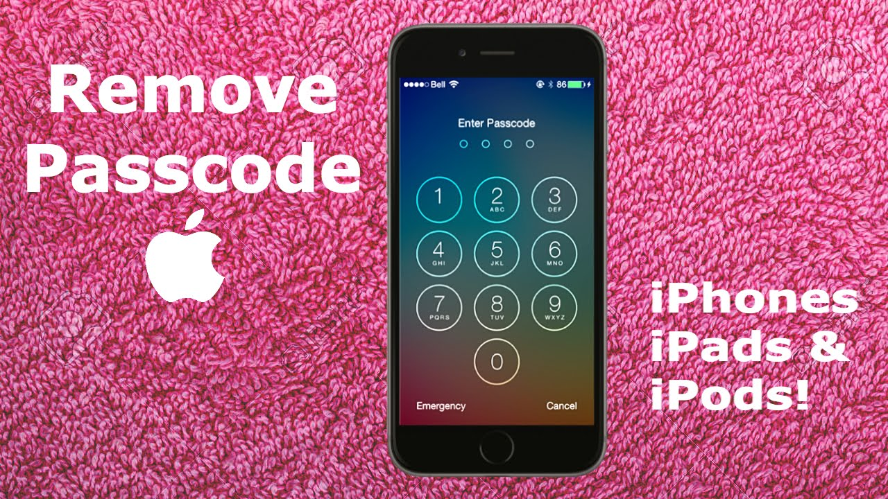 forgot password for iphone 6 how to remove forgotten iphone 6s 6 passcode tutorial 16948