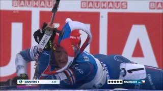 Světový pohár v biatlonu - Oberhof - stíhací závod žen na 10 km (celý závod)