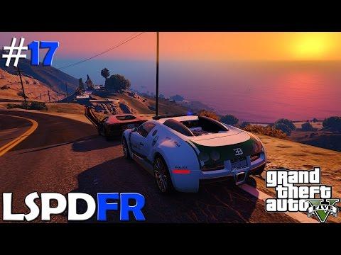 GTA V LSPDFR #17 | POLICIA DE DUBAI [BUGATTI VEYRON]| TheAxelGamer