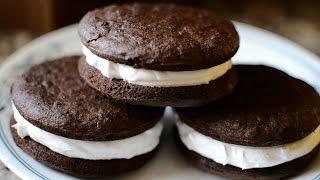 Pastelitos rellenos/Whoopie Pies: Receta Low Carb sin azucar o harina!