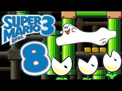 Let's Play Super Mario Bros. 3 Part 8: Buu Huu Teppiche?