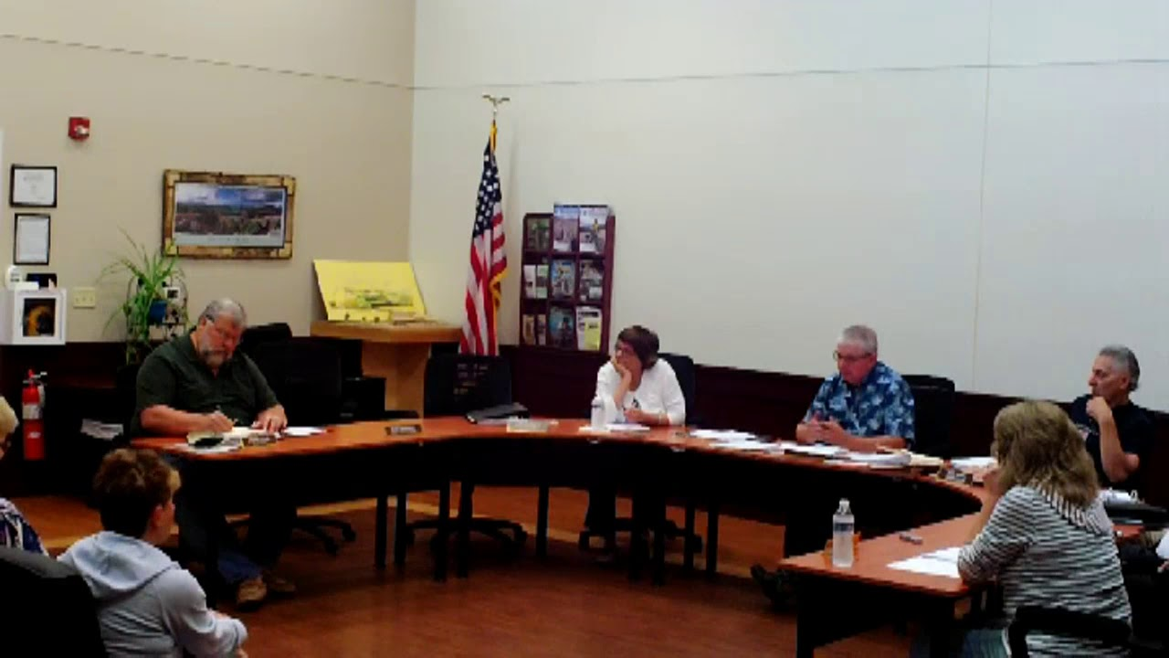 Dannemora Town Board  7-25-18