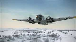 IL2 BoS: He111 Train Busting MIssion (Rock n