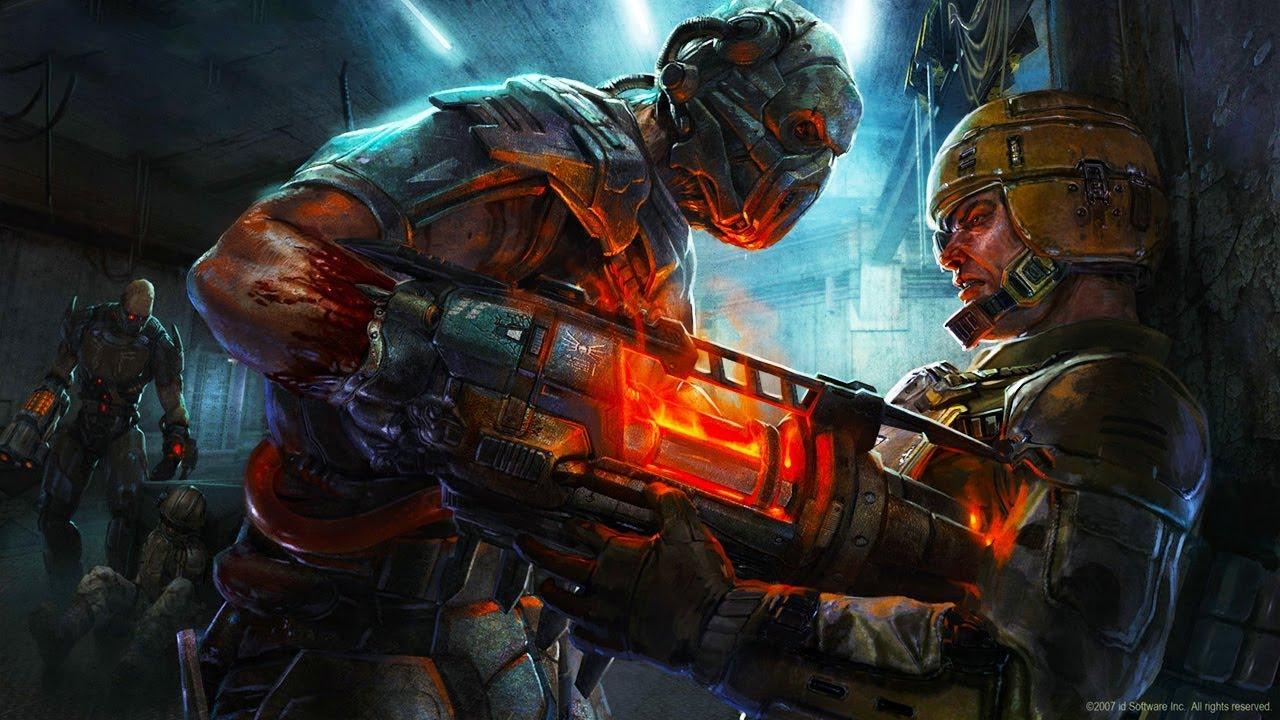 Quake 4 \ Xbox 360 Gameplay - YouTube