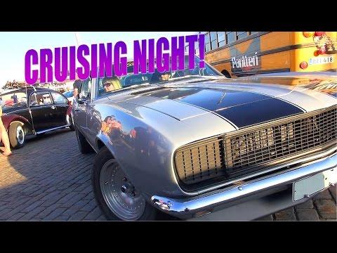 Helsinki Cruising Night 7/2016 - Legendary Cars, Legendary V8 Sounds