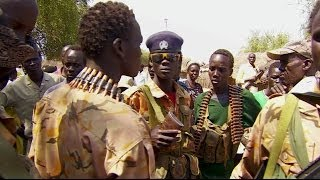 SOUTH SUDAN'S REBELS GRANT RARE ACCESS TO BBC TO LANKIEN STRONGHOLD  - BBC NEWS