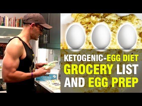 KETOGENIC-EGG DIET FOOD LIST & PREP