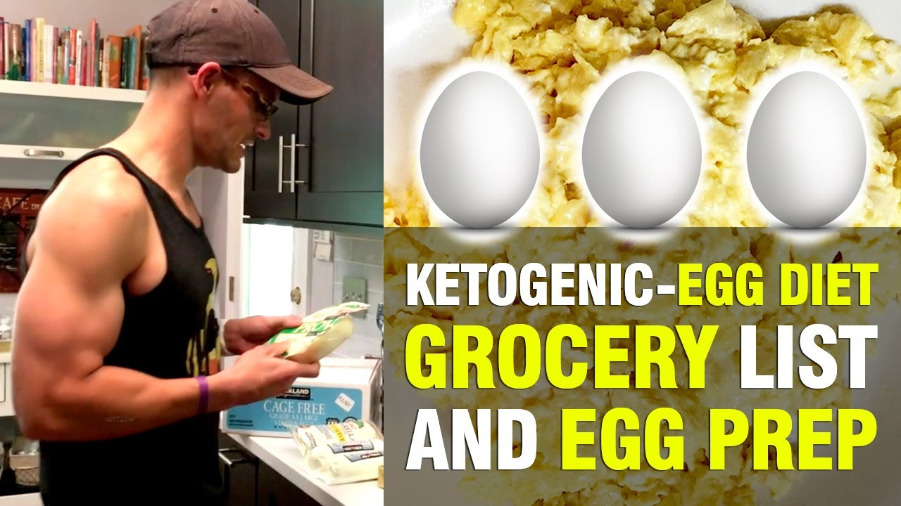 KETOGENIC-EGG DIET FOOD LIST & PREP - YouTube