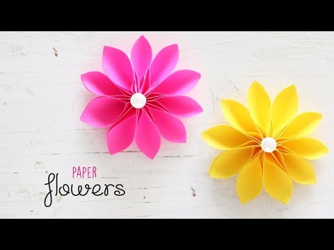 DIY Beautiful and Easy Flowers | Paper Crafts | Handmade