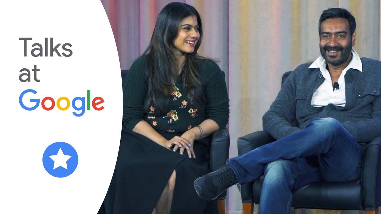 Kajol And Ajay Devgn  Talks At Google - Youtube-4983