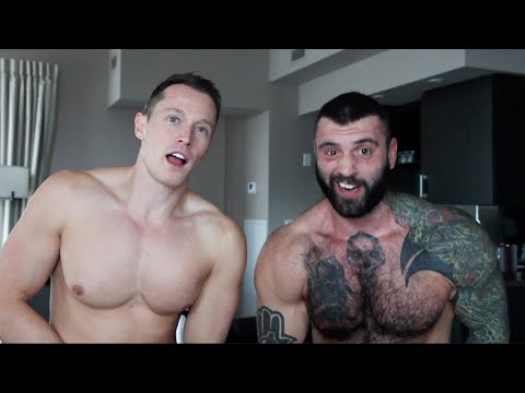 Gay, Bi & Straight Bodybuilders Flex and Kiss from YouTube · Duration:  5 minutes 28 seconds