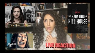 Haunting of Hill House | Official Trailer REACTION & REVIEW!!!!!