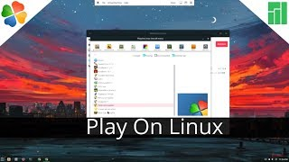 Using Play On Linux For Windows Games On Linux!