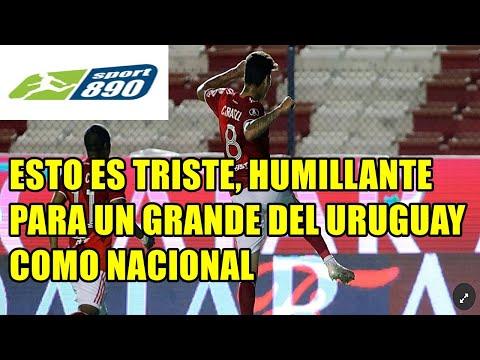 """RADIO URUGUAY   - NACIONAL 2 RIVER 6 """"ESTO ES TRISTISIMO PARA UN GRANDE DEL URUGUAY COMO NACIONAL!"""""""
