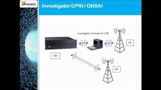 CPRI Protocol Analyzer and Serial Tester
