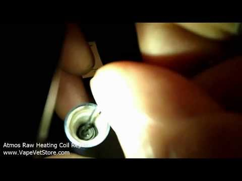 Part 3/4: How to Fix Broken Atmos Heating Coil Not Working - Atmos Raw Rx Heating Chamber Repair